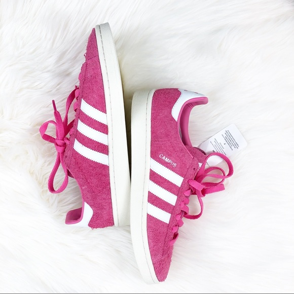new products b8ae2 bc045 Adidas Originals Pink Campus Trainers NWT 9m